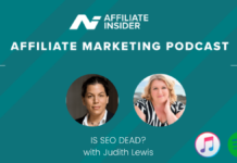 The Affiliate Marketing Podcast – Is SEO dead? With Judith Lewis